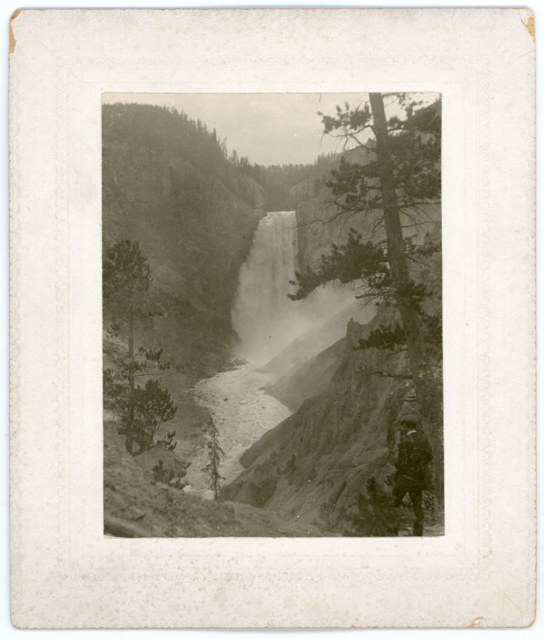 YELLOWSTONE c. 1890s MOUNTED PHOTOS