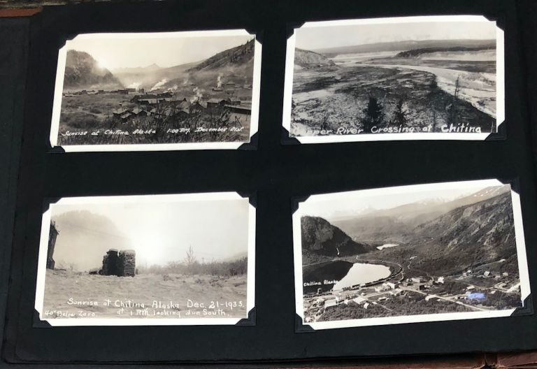 ALASKA 1930s/1940s CHITINA McKINLEY MILITARY PHOTO ALBUM