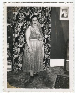 GYPSY FORTUNE TELLER VINTAGE POLAROID PHOTO LOT