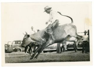 COWBOY RODEO CIRCUIT c. 1940s PHOTO ALBUM/SCRAPBOOK