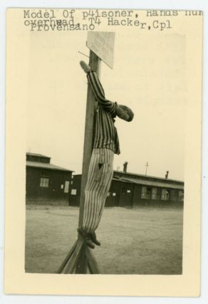 WWII US SOLDIERS at BUCHENWALD CONCENTRATION CAMP and GERMANY PHOTOS