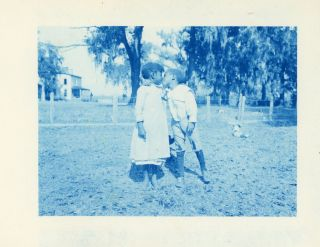 BLACK AFRICAN AMERICANS IN THE SOUTH BEAUTIFUL CYANOTYPE PHOTO ARCHIVE