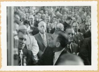 1956 POLITICAL CONVENTIONS PHOTO ALBUM/SCRAPBOOK - PRESS