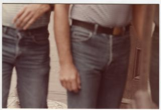 1970'S STREET PHOTOS – A NEW ORLEANS VOYEUR'S COLLECTION of HUNKY MEN