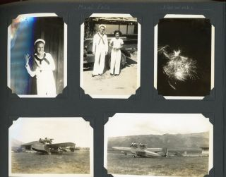 HAWAII - MIDWAY ISLAND, etc SAILOR on USS BEAVER in MID 1930s PHOTO ALBUM