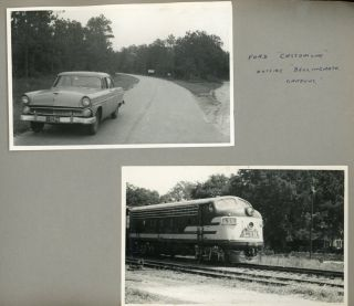 TEXTILE BUSINESS TRAVEL IN THE SOUTH 1950s PHOTO ALBUM