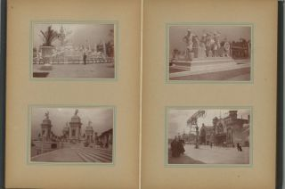 1901 PAN-AMERICAN WORLD'S FAIR EXPOSITION & NIAGARA FALLS, BUFFALO, NY