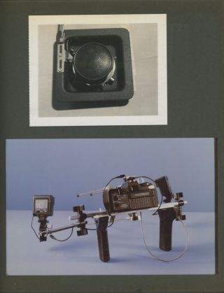 PROFESSIONAL CAMERA REPAIR SERVICE, NYC – PHOTO EQUIPMENT PROTOTYPES AND MORE – 1960s – 1980s PHOTO ALBUMS
