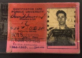 INDIANA MAN AT PURDUE AND STATIONED IN POST WWII JAPAN 1944-48 PHOTO ALBUM SCRAPBOOK LOT