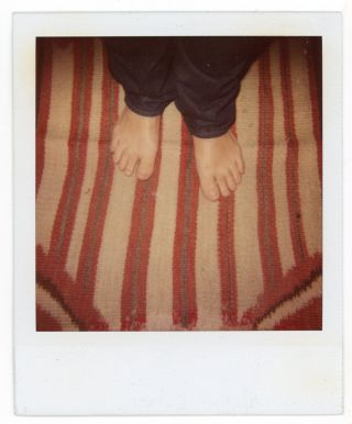 FOOT FETISH POLAROID PHOTO LOT c. 1990