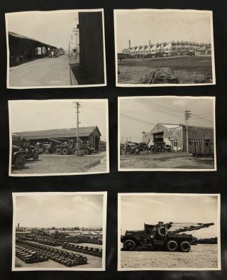 AMERICAN SOLDIERS IN JAPAN – FUCHU ORDNANCE DEPOT, TOKYO, 1940's-50's
