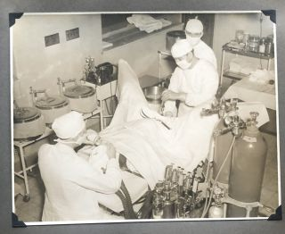 1930's UNIVERSITY OF CINCINNATI CHILDREN'S HOSPITAL MATERNITY WARD PHOTO ALBUM
