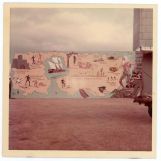 CIRCUS MURAL AND SIGN PAINTER ARCHIVE, NORMAN SYNREX OF THE ROYAL AMERICAN SHOWS, 1950's-70's