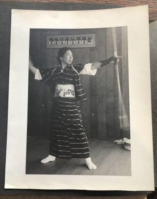 1938 US MILITARY MAN IN HAWAII – JAPANESE MARTIAL ARTS PHOTO ALBUM