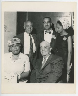 NAACP GROUP PHOTO 1950s