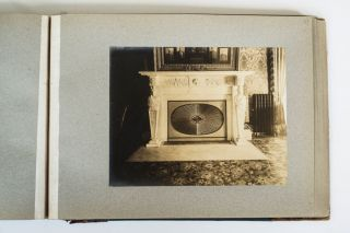 COLONIAL ARCHITECTURE AND INTERIORS - J.S. HOLBROOK - c. 1900 PHOTO ALBUM