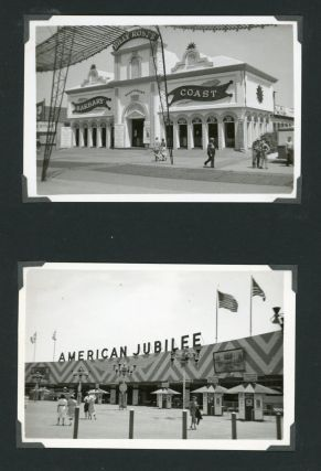 1939 NEW YORK WORLD'S FAIR CAMP GEORGE WASHINGTON PHOTO ALBUM