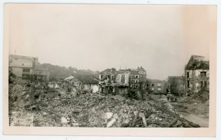 WWII BOMBING DAMAGE in FRANCE PHOTO LOT by GILBERT FERNEZ LE HAVRE