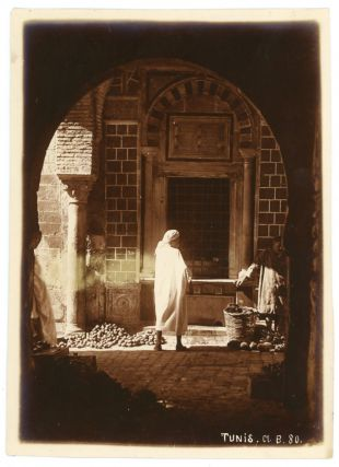 c. 1900 PHOTOS OF TUNIS TUNISIA by E. BERG North Africa