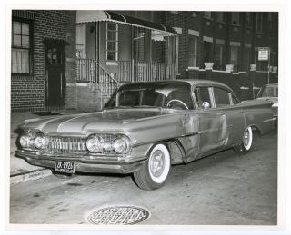 BROOKLYN NY STOLEN CAR PHOTOS 1950s