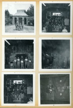 EARLY 1970s BOY SCOUTS PHOTO ALBUM OAKLAND CA