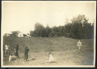 1914 SUMMER CAMP FOR GIRLS - MEREDITH, NH PHOTO ALBUM