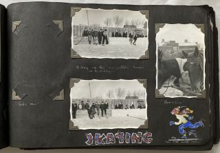 BRITISH COLUMBIA FUN PHOTO COLLAGE PHOTO ALBUM WWII ERA