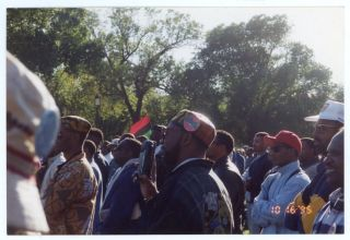 MILLION MAN MARCH AFRICAN AMERICAN MEN MARCH WASHINGTON DC 1995 PHOTOS