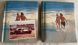 MID 1970s STOCK CAR RACING ORANGE COUNTY NY FAN GIRL PHOTO ALBUMS