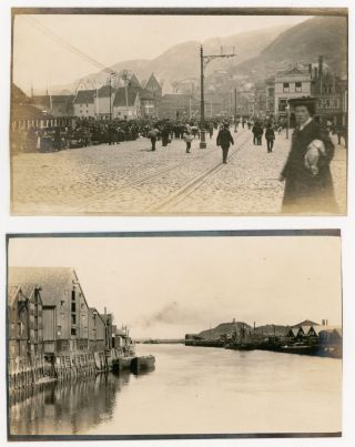 NORWAY - SMALL ARCHIVE OF EARLY 1900s PHOTOS