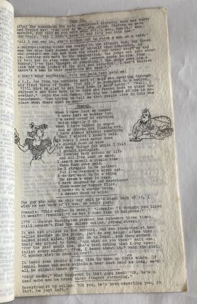 1950s RISQUE ART AND HUMOR TYPEWRITTEN MANUSCRIPTS