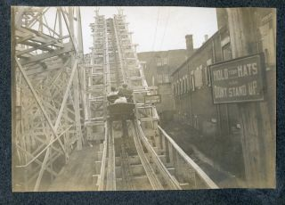 1901 ATLANTIC CITY NJ PHOTO ALBUM BEACH, BOARDWALK AND ROLLER COASTER