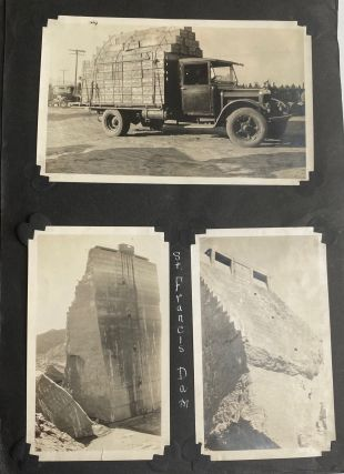 WESTERN US AND HOLLYWOOD MOVIES 1920s PHOTO ALBUM -