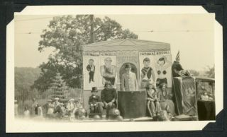 CIRCUS SIDE SHOW 1920s PHOTO ALBUM - WORCESTER MA
