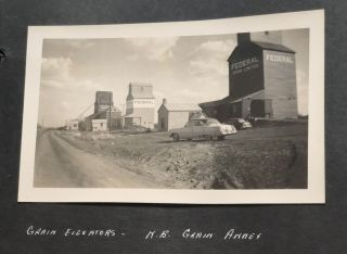 CLOAN, SASKATCHEWAN, CANADA HOMEMAKERS CLUB PHOTO ALBUM 1953