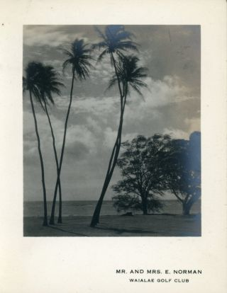 HAWAII PHOTO ALBUM LOT KEPT BY HOTEL MAID 1927-1937