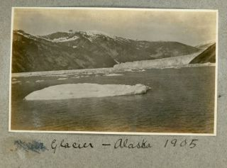 CALIFORNIA and ALASKA ULYSSES S GRANT IV PHOTO ALBUM 1905-1907
