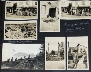 ALASKA, CALIFORNIA, CANADIAN ROCKIES, EUROPE PRESIDENT TAFT PHOTO ALBUM 1906-1947