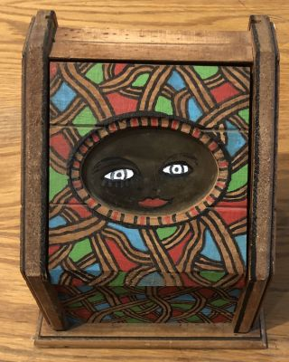 HOWARD FINSTER HAND-PAINTED BOX 1992