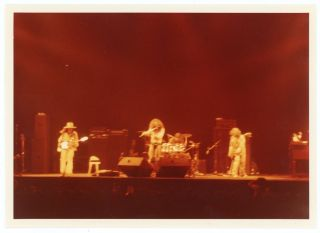 JETHRO TULL in CONCERT 1973 SNAPSHOT PHOTO LOT
